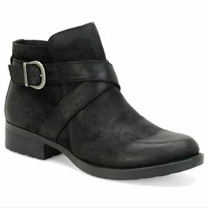 Born Distressed Leather Booties